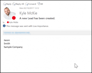 Sent email for Microsoft Flow