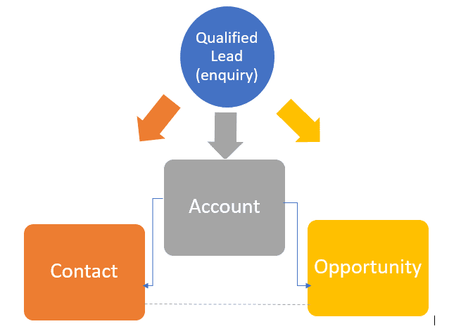 What are leads in Microsoft Dynamics 365?