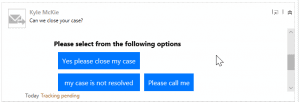 email activity in Dynamics 365
