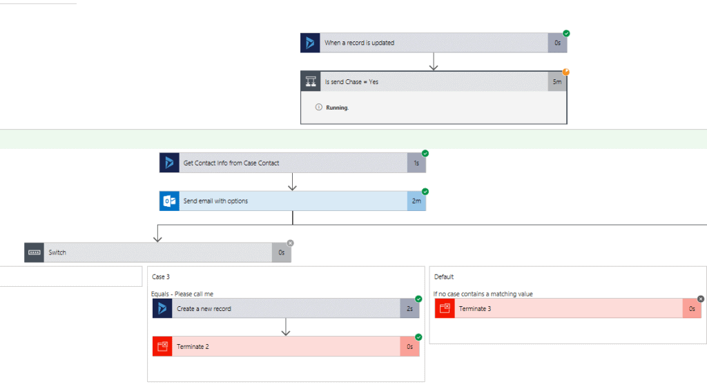 Microsoft Flow Test Runs