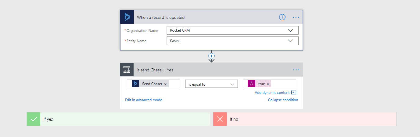 Microsoft Flow - Send an email with options buttons | Rocket CRM