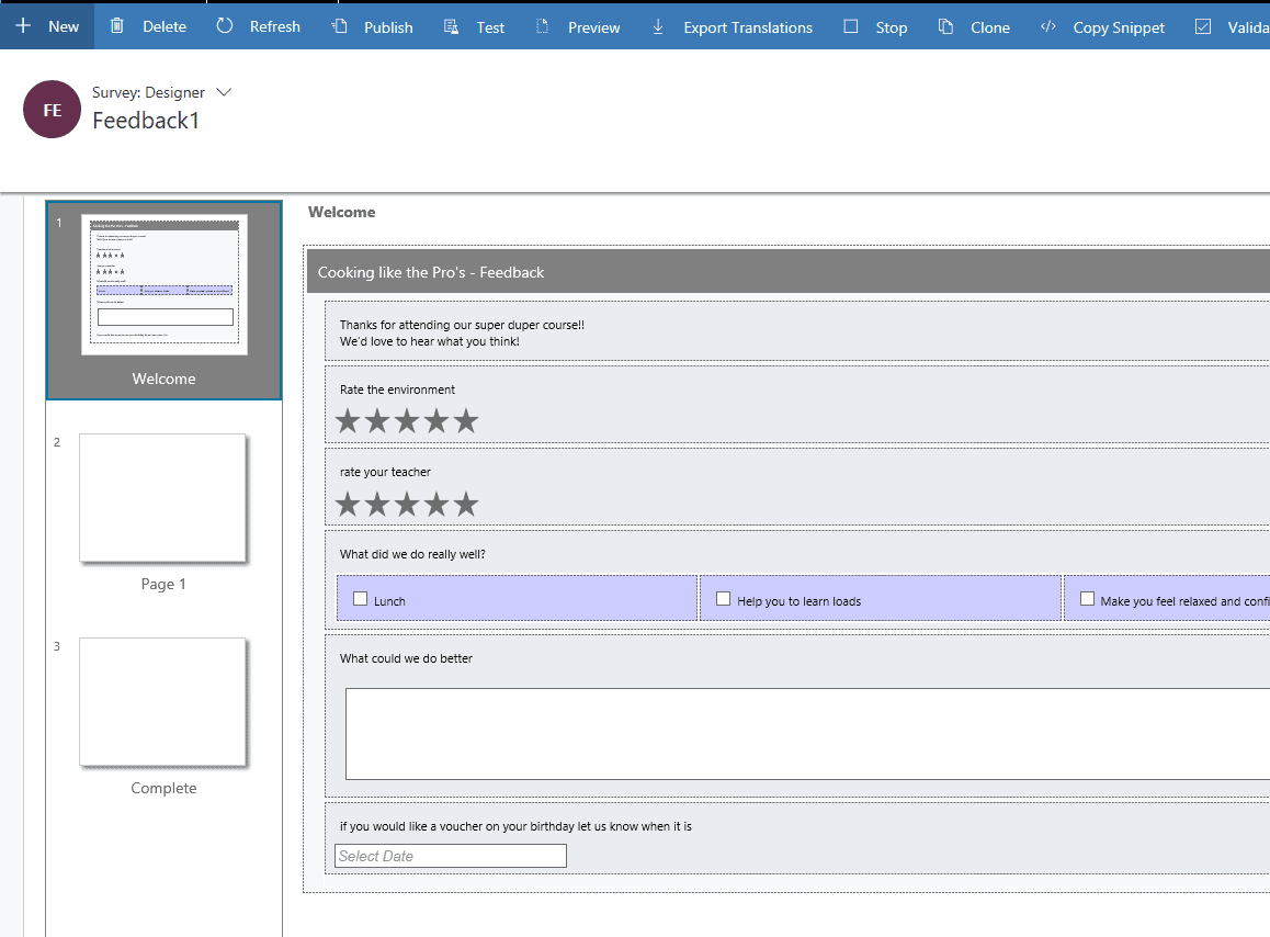 Creating Events in Dynamics 365 Marketing