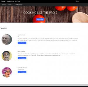 Portal Event Speaker Profiles