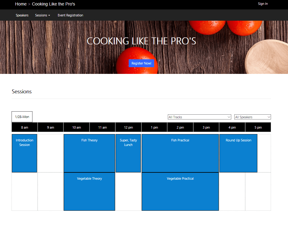 Dynamics 365 for Marketing Event Portal