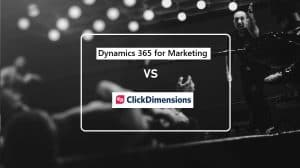 ClickD vs D365 for Marketing Announcement