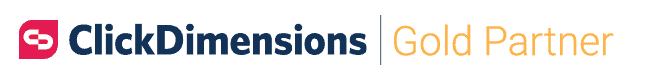 ClickDimensions Gold Partner Logo