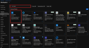 Azure Marketplace Search