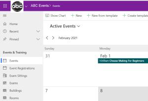 Events Power App