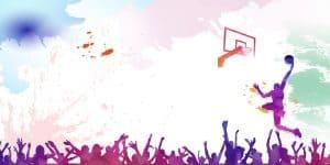 technicolour Basketball cartoon