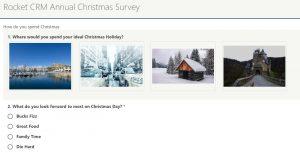 ClickDimensions Online Survey Question