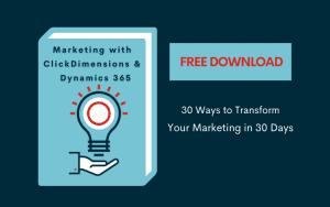 ClickDimensions marketing